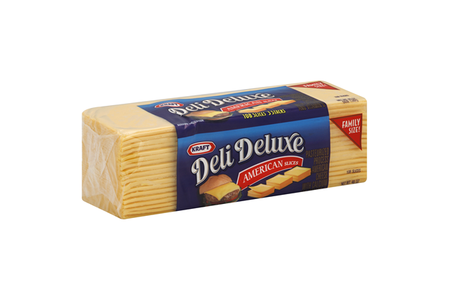 Kraft Deli Deluxe American Cheese Slices 108 Ct Pack