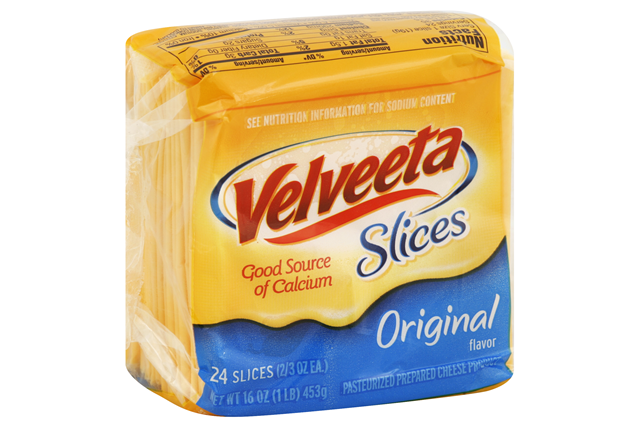 Velveeta Original Cheese Slices 24 Ct Pack