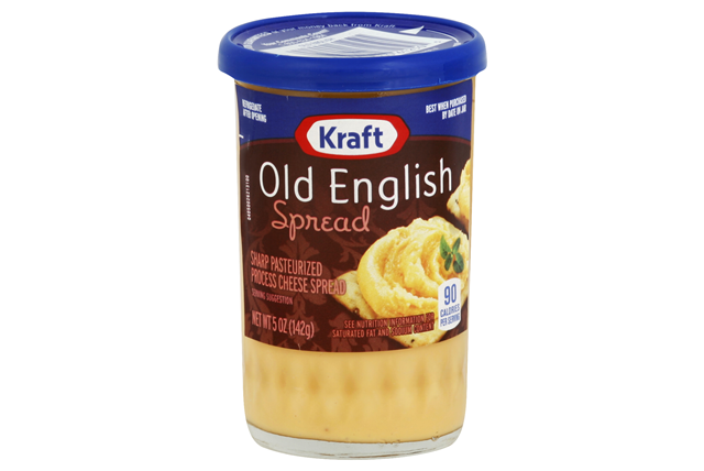 Kraft Old English Sharp Cheddar Cheese Spread 5 oz. Jar