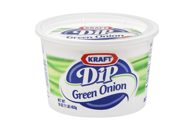 Kraft Dips Green Onion Dip 16 Oz Tub