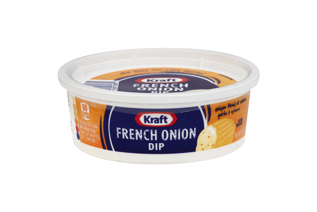 Kraft Dips French Onion Dip 8 Oz Tub
