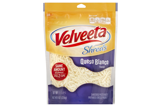 Kraft Queso Blanco Flavor Velveeta Shreds 8 Oz. Bag