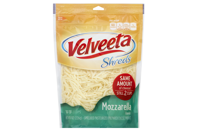 Kraft Mozzarella Flavor Velveeta Shreds 8 Oz. Bag
