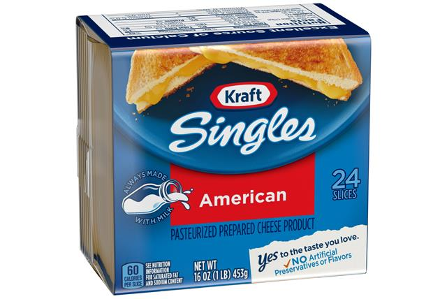 Kraft Singles American Cheese Slices 72 Ct Box