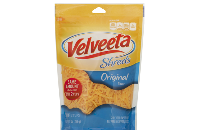 Kraft Original Flavor Velveeta Shreds 8 Oz. Bag