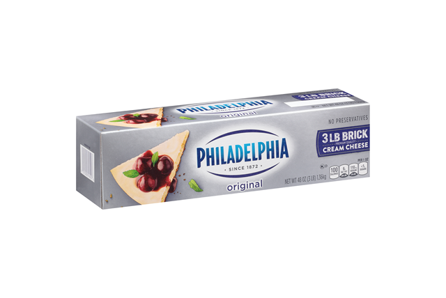 Kraft Philadelphia Original Cream Cheese 48 Oz Box
