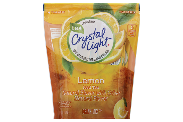 CRYSTAL LIGHT MULTISERVE Iced Tea 4.26 oz. Packet