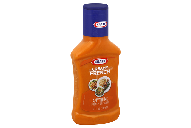 Kraft Creamy French Dressing 8 fl. oz. Bottle