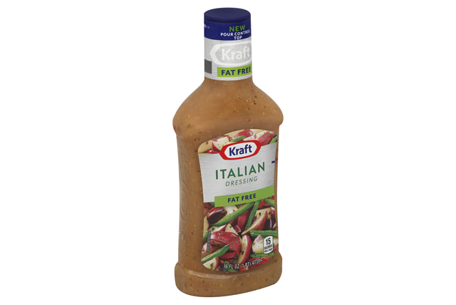Kraft Fat Free Italian Dressing 16 fl. oz. Bottle