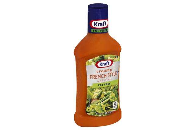 KRAFT French Fat Free Dressing 16 oz Bottle