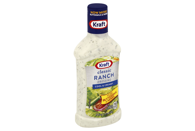 KRAFT Ranch Dressing 16 oz Bottle