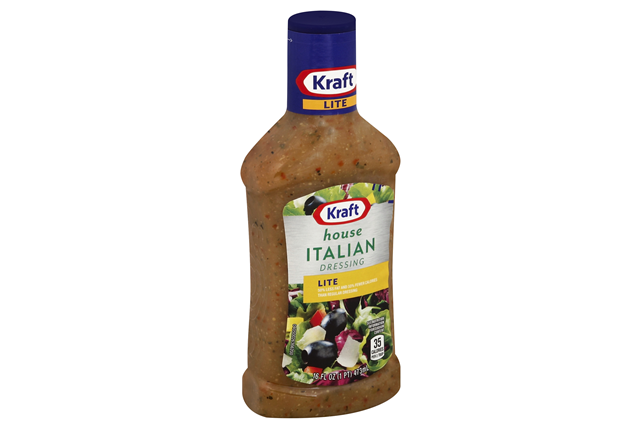 Kraft Lite House Italian Dressing 16 fl. oz. Bottle