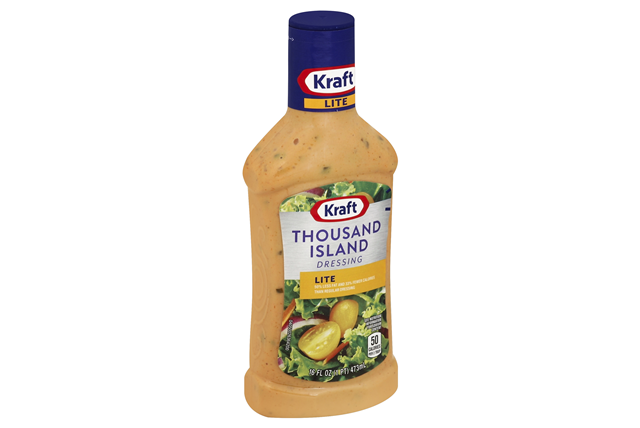 KRAFT Thousand Island Light Dressing 16 oz Bottle