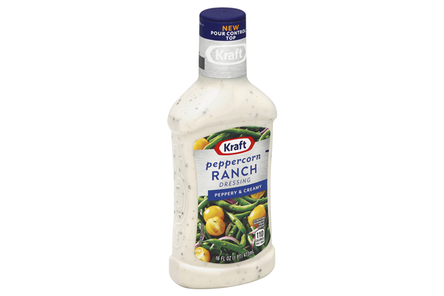 KRAFT Peppercorn Ranch 16 oz Bottle