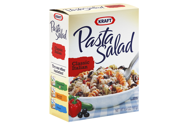 Kraft Pasta Salad  Classic Italian 6.4 Oz Box