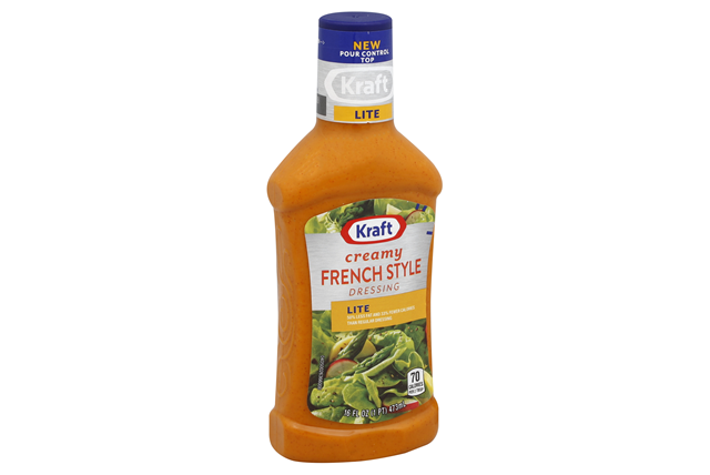 KRAFT Creamy French Light Dressing 16 oz Bottle