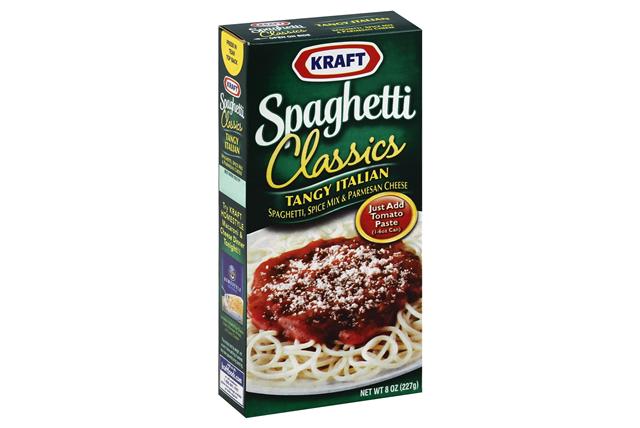 KRAFT Spaghetti Classics Tangy Italian