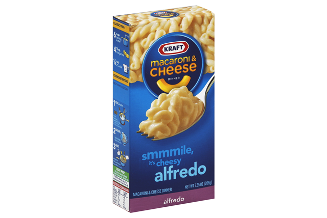 KRAFT Mac & Cheese Dinner Cheesy Alfredo