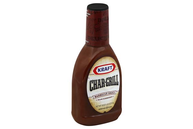 KRAFT Chargrill BBQ Sauce