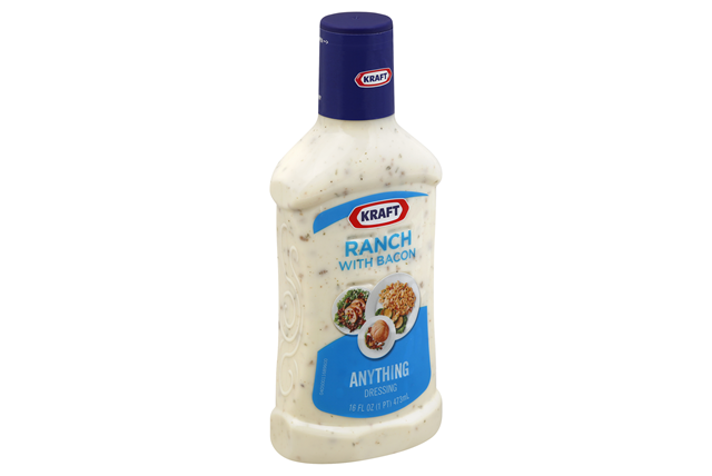 KRAFT Ranch with Bacon Dressing 16 oz Bottle