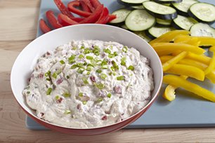 Roasted Red Pepper and Green Onion Dip Image 1