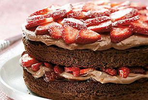 Kraft chocolate fudge layer cake