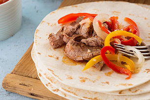 Easy Flank Steak Fajitas Image 1