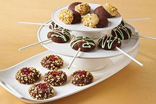 Chewy Chocolate Cookies Three Ways