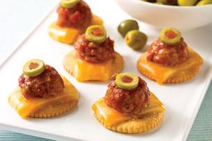Salsa-Meatball Appetizers