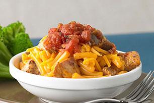 Chili Chicken Mac & Cheese
