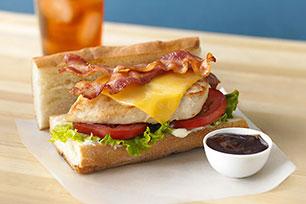 Chicken & Cheese Sub Sandwiches