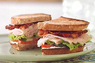 Garden-Style Club Sandwich
