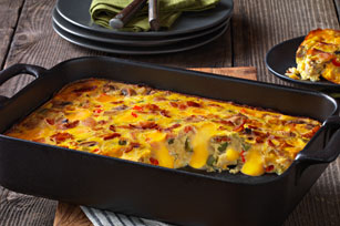 Casserole fromage-bacon du brunch Image 1