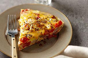 Cheesy Potato & Egg Skillet