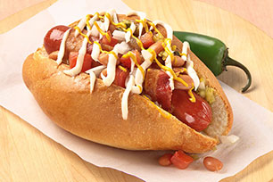 Sonoran-Style Hot Dog