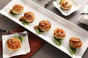Asian-Style Pork and Peanut Cakes Image 1