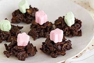 Crujientes delicias de chocolate