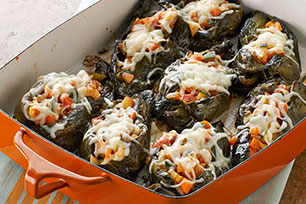 Vegetarian Chiles Rellenos