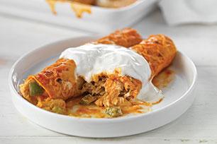 Enchiladas de pollo sublimes