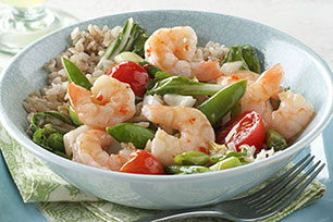 Sizzling Shrimp Stir-Fry