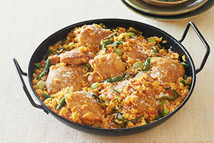 Latin Chicken Paella