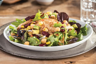 Butterflied Chicken, Beans & Corn Salad