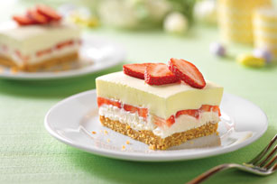Creamy Layered Lemon Squares