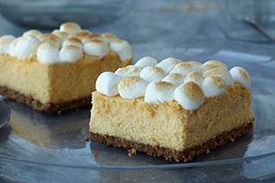PHILADELPHIA Sweet Potato Cheesecake Bars Image 1