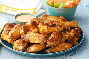Alitas de pollo picantes a la parrilla