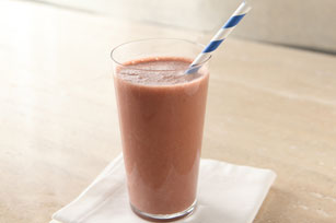 Cherry Blackberry-Chocolate Smoothie