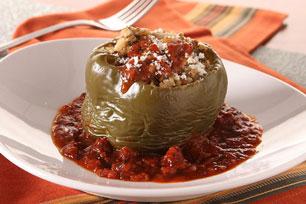 Slow-Cooker Turkey-Stuffed Peppers