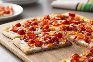 Spicy Jalapeño & Bacon Flatbread