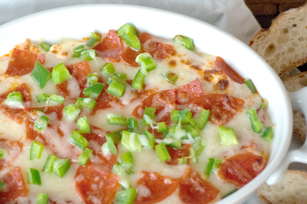 10-Minute Layered Pizza Dip