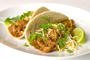 Crowd-Pleasing Slow-Cooker Shredded Pork Tacos Image 1